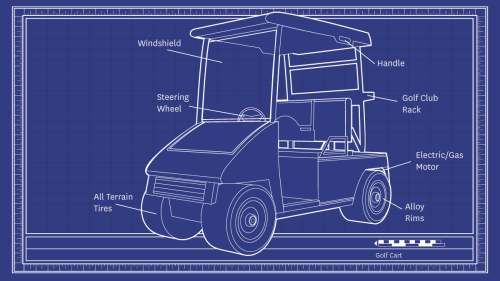 small resolution of diagram of electric golf cart part