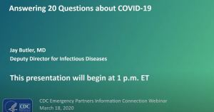 CDC 20 questions YouTube Link Image Cover