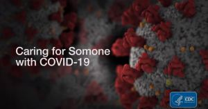 CDC Caring for Someone with COVID YouTube Link Image Cover