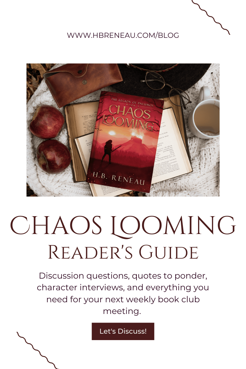 Chaos Looming: Reader's Guide
