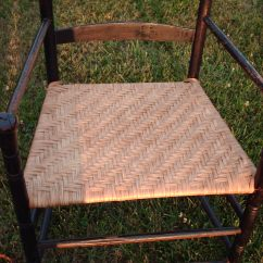 Rush Seat Chairs Chair Cover Hire Stoke On Trent Splint | Heritage Basket Studio & Caning