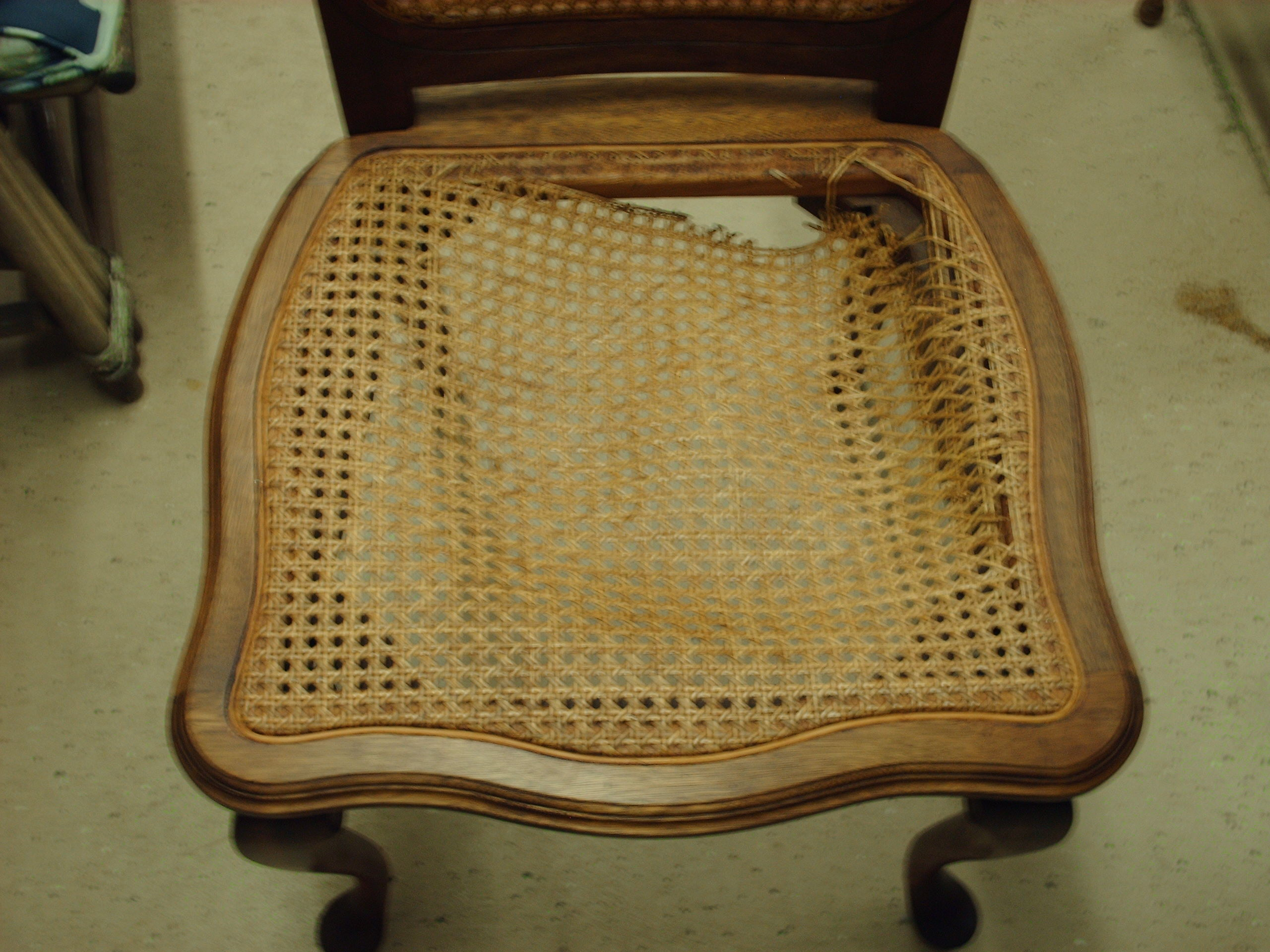 how to rush a chair aldi recliner lift seat weaving caning heritage basket studio page 3
