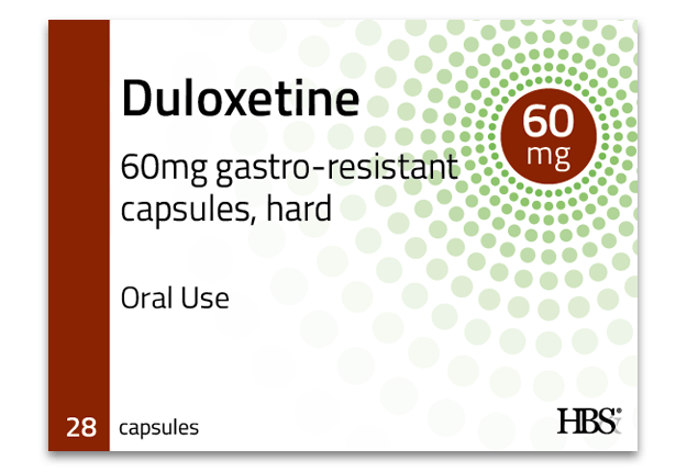 Duloxetine 60mg gastro-resistant capsules, hard