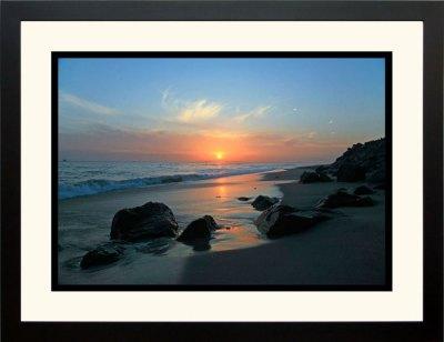 Sunset Below the Cliffs