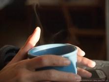 El clima en invierno es duro. Una bebida caliente, un café (fika) o un té de vez en cuando nos ayudan a mantenernos calientes.