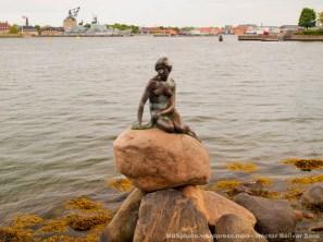 La Sirenita es el reclamo mas internacional de Copenhague. Esculpida por Edvard Eriksen, que se inspiró en el cuento La Sirenita de Hans Christian Andersen. Tiene mas de 103 años (aunque ha sufrido muchos actos vandálicos que han llegado casi a destruirla por completo) y pesa mas de 170 kilos.