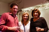 Three people including Lisa Yapp at HB Studio, provider of acting classes in NYC
