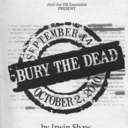 Bury the Dead - HB Studio
