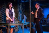 Judd Hirsch gesturing to Kathryn Danielle onstage at Talley's Folly, a benefit for HB Studio, provider of NYC acting classes