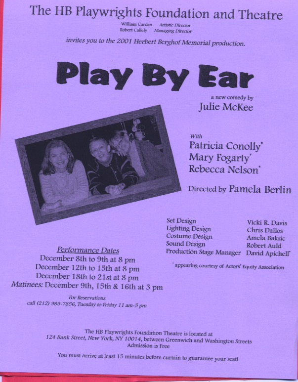 Poster_Flyer_Playbill_Play By Ear