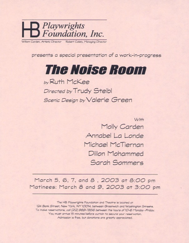 The Noise Room - HB Studio