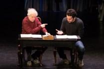 Austin Pendleton and Christopher Abbott reading.