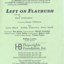 Left On Flatbush - HB Studio
