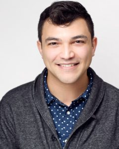 Headshot of Josh FS Moser, Actor and Speech and Voice Coach