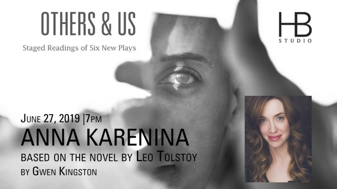 OTHERS & US graphic with playwright's photo