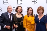 Alexander Bernstein, Anya Bernstein, Andrea Velasca, and Jaime Berntstein at HB Studio's Uta Hagen at 100 Gala