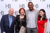 Paul Pryce and friends at HB Studio's Uta Hagen at 100 Gala