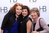 Trudy Steibl and friends at HB Studio's Uta Hagen at 100 Gala