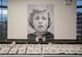 Take away bags featured an Al Hirschfeld caricature of Uta Hagen