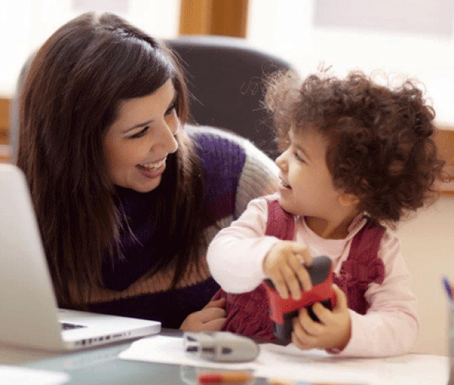 Kids Benefit From Having A Working Mom