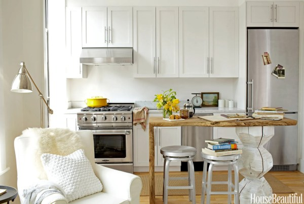 studio apartment kitchen 17 Best Small Kitchen Design Ideas - Decorating Solutions for Small Kitchens