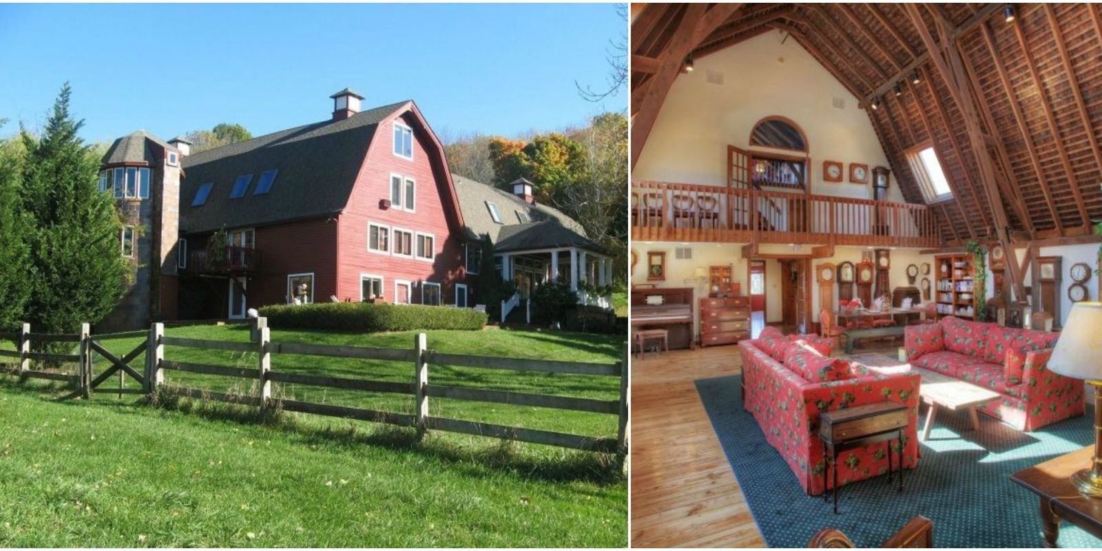 design living room furniture arrangements orange idea red barn home tour - converted from 1900