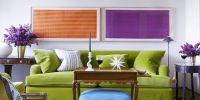 Purple Living Room Color Palette Comfortable Home Design
