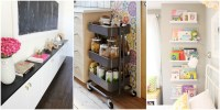 15 IKEA Storage Hacks - Storage Solutions With IKEA Products