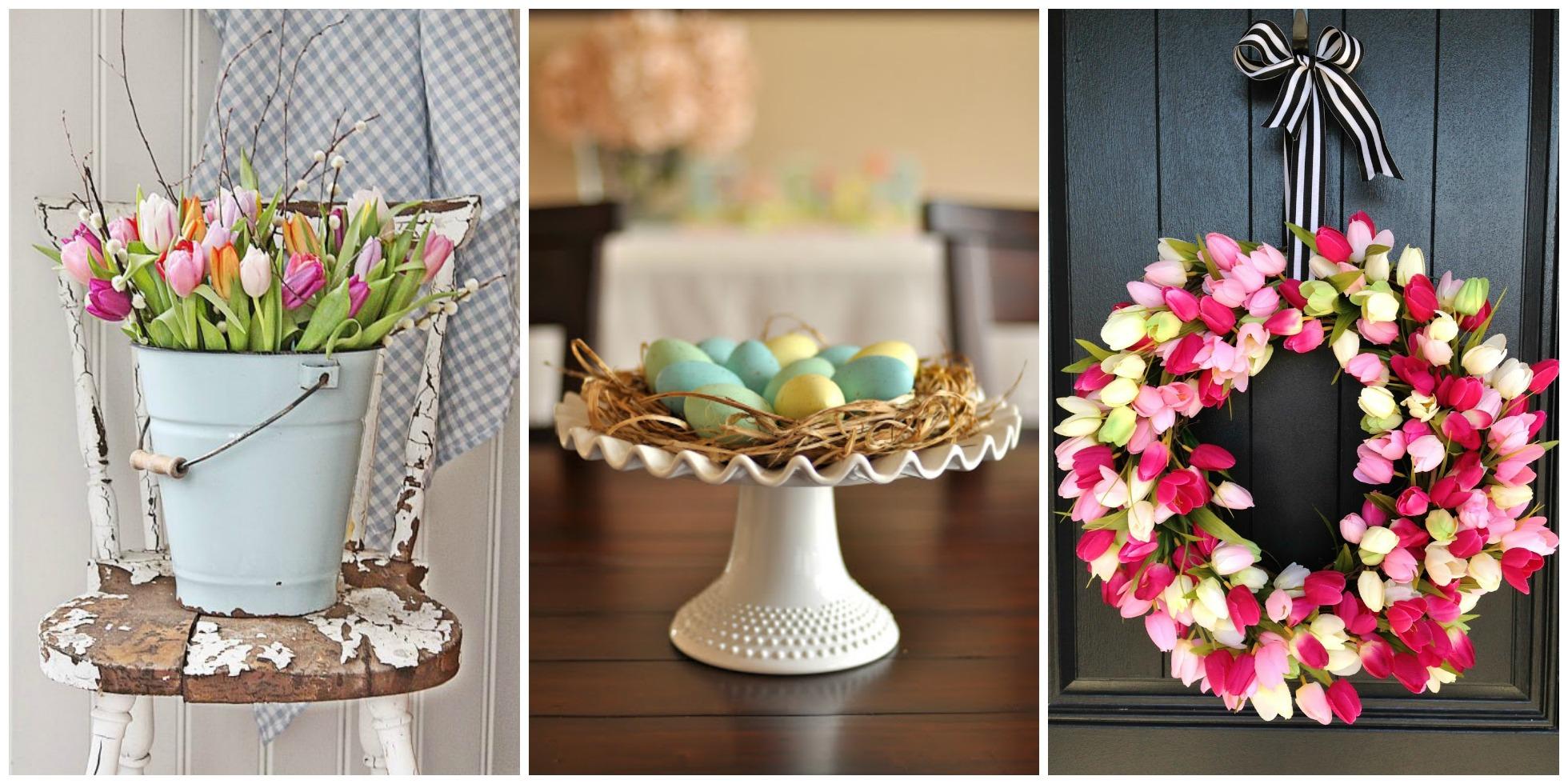 30 Easter Decoration Ideas  Easter Flower Arrangements