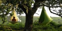 Hanging Cacoon Tent - Tent Design That Hangs From a Tree