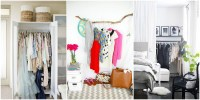 Storage Ideas for a Bedroom Without a Closet