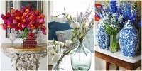 55 Easy Flower Arrangement Decoration Ideas & Pictures
