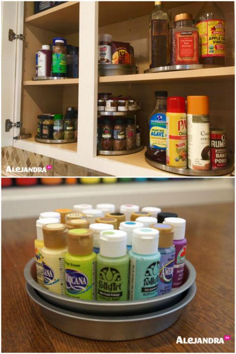 organizing-round-items Malas Merapikan Rumah? Ikuti 8 Tips Anti Ribet Ini Agar Kerapihan Rumahmu Selalu Terjaga