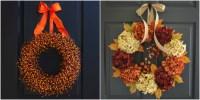 30 DIY Fall Wreaths - Autumn Wreaths for Sale
