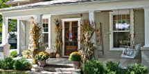 Fall Porch Decor Ideas - Autumn Decorations