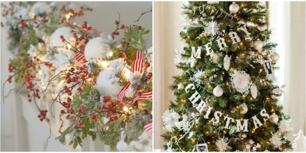 Christmas Garland Decorating