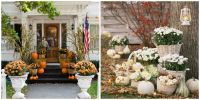 25 Outdoor Halloween Decorations - Porch Decorating Ideas ...