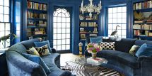 Colonial Blue Paint Color