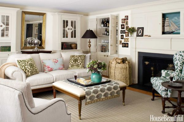 Cape Cod Style Room Decorating Ideas