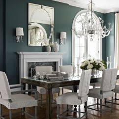 Dark Teal Dining Room Chairs Stressless Office Chair Review Paint Color Rooms Decorating With Colors