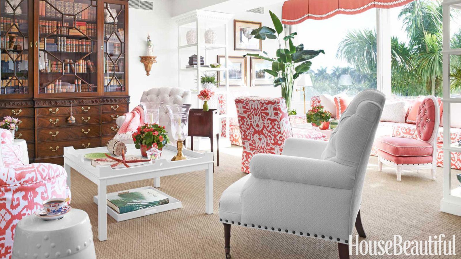 Feminine Palm Beach Apartment Feminine Decorating Ideas