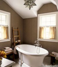House Beautiful Master Bathrooms