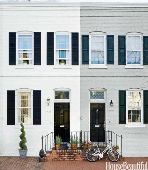 Small 1900 Georgetown Row House Mary Douglas Drysdale Interiors