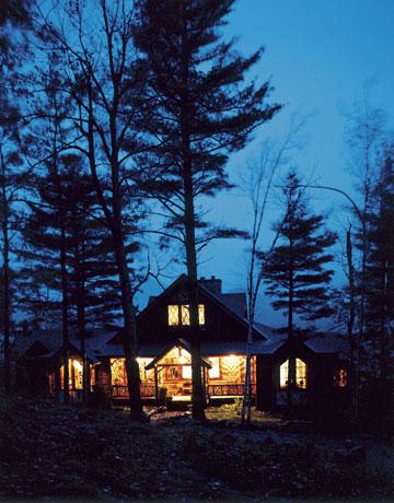 Upstate New York Fall Hd Wallpaper Rustic Adirondacks Log Cabin Mimi Maddock Mcmakin