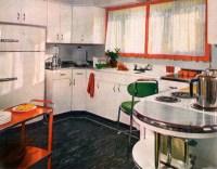 Retro Kitchen Decor - 1950s Kitchens