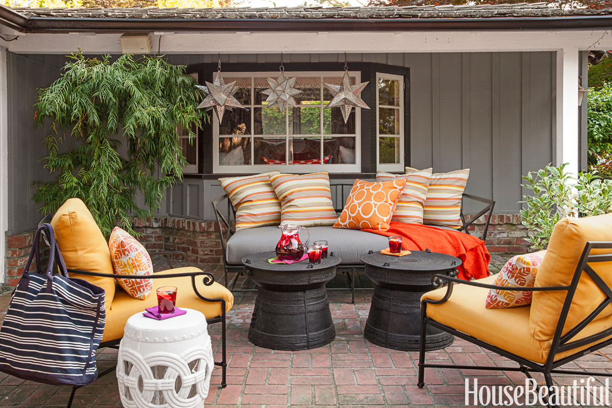 20 Fall Outdoor Decorating Ideas  Best Autumn Decor for Outdoor Rooms