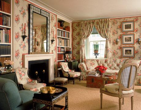 Mark Hampton's Living Room Makeovers
