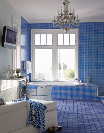 Blue Bathrooms  How to Decorate Blue Bathrooms