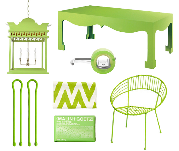 Lime Green Home Accessories Lime Green Decor