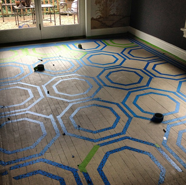 Pattern Wood Floors Before And After